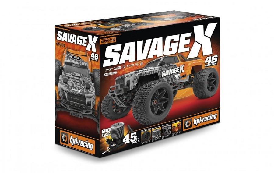 HPI Savage X 4.6