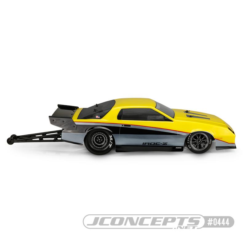 JConcepts 1987 Chevy Camaro IROC Clear Drag Body