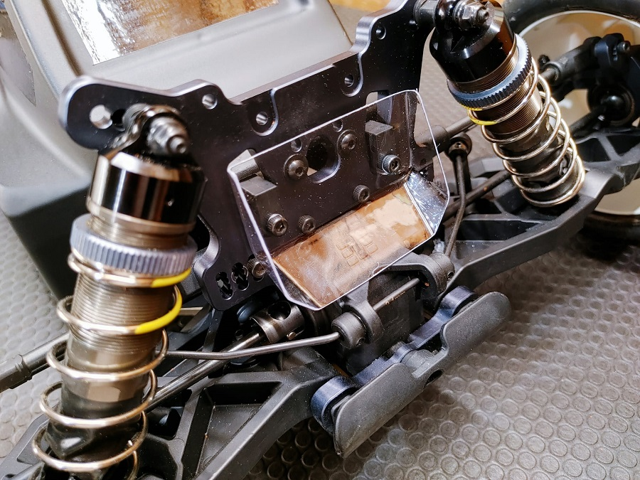 Leadfinger Bruggy Clear Body For The Tekno ET48 2.0 Electric Truggy