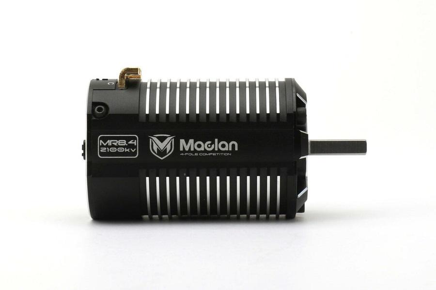 Maclan MR8.4 1900KV & 2100KV 1/8 Electric Truggy Competition Brushless Motors