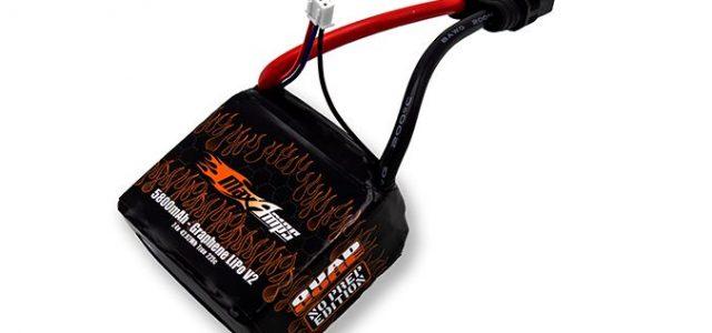 MaxAmps Graphene V2 LiPo 5800 2S4P No Prep Quad Core 7.4v Battery Pack