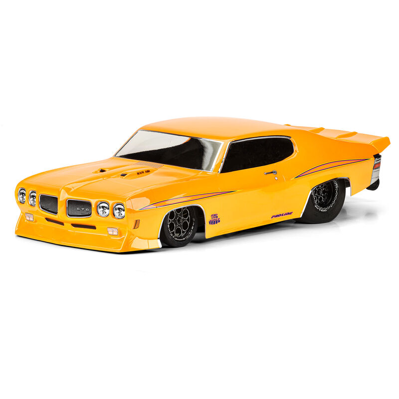 Pro-Line 110 1970 Pontiac GTO Judge Clear Drag Car Body