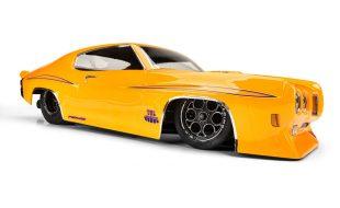 Pro-Line 1/10 1970 Pontiac GTO Judge Clear Drag Car Body