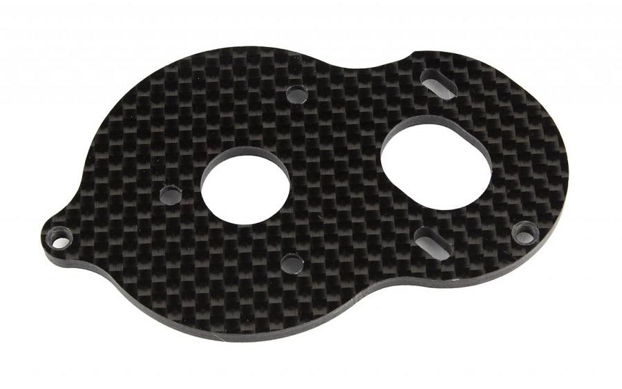 Factory Team Carbon Fiber Standup Motor Plate For The B6.x, T6.x & SC6.x