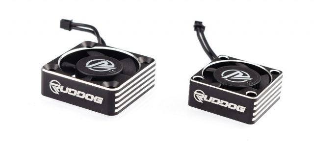 RUDDOG 25mm & 30mm Aluminium High Speed ESC Cooling Fans