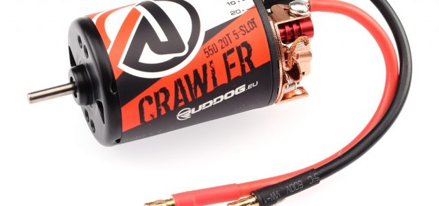 RUDDOG Crawler 550 Motors Now Available In 14T, 16T & 20T Options