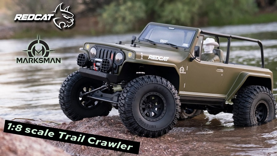 Redcat TC8-Marksman18 Scale Trail Crawler In Action
