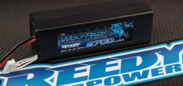 Reedy WolfPack LiPo 2700mAh 35C 6S 22.2V With T-Plug