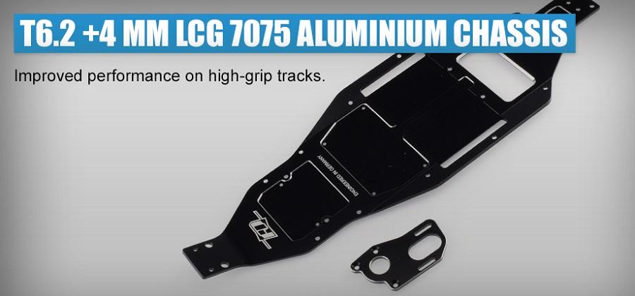 Revolution Design T6.2 +4mm LCG 7075 Aluminium Chassis