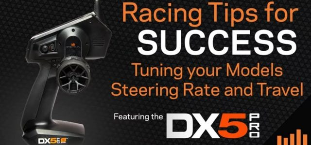 Spektrum Beginner To Pro Race Series – How To Setup Steering Rates For Competition [VIDEO]
