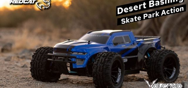 Tearing It Up In The Arizona Desert & Bashing At The Skate Park With The Redcat Volcano EPX PRO [VIDEO]
