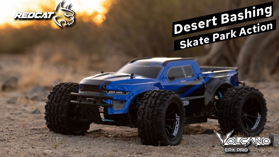Tearing It Up In The Arizona Desert & Bashing At The Skate Park With The Redcat Volcano EPX PRO