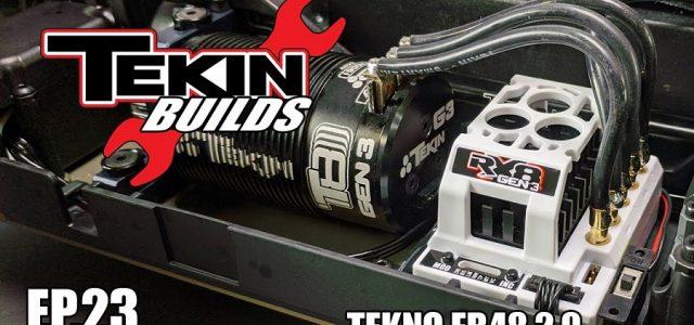 Tekin Builds Ep. 23 – Tekno EB48 2.0 Electronics Install [VIDEO]