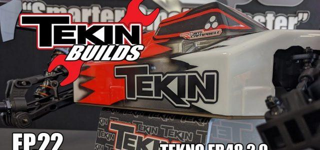 Tekin Builds Ep.22 – Tekno EB48 2.0 1:8 E-Buggy [VIDEO]