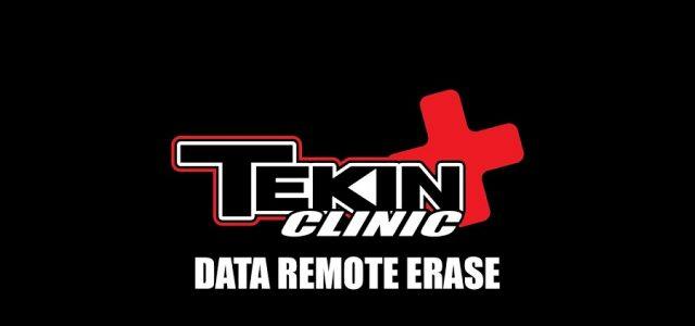 Tekin Clinic: Data Remote Erase [VIDEO]