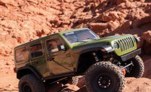 Axial 1/6 SCX6 Jeep JLU Wrangler 4WD Rock Crawler RTR [VIDEO]