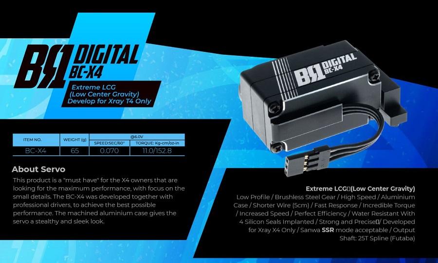 BR1 BC-X4 Digital Servo