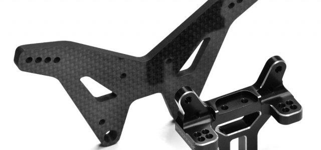 Exotek 4mm Carbon Fiber Rear Shock Tower For the Losi 22S Drag Car