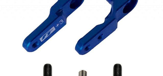 Factory Team +3mm Aluminum Steering Bellcranks