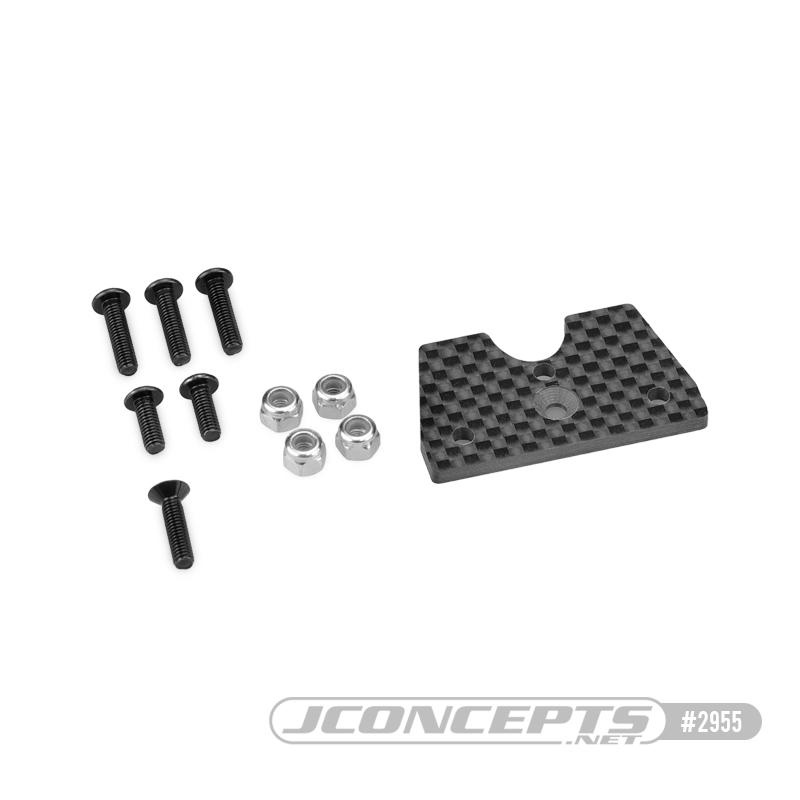 JConcepts F2 Truck Body Mount Adaptors For The HB D8T Evo 3 & Tekno NT48 2.0