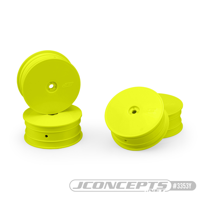 JConcepts Mono Front Wheels For The TLR 22X-4, B74.1 & XRAY XB4