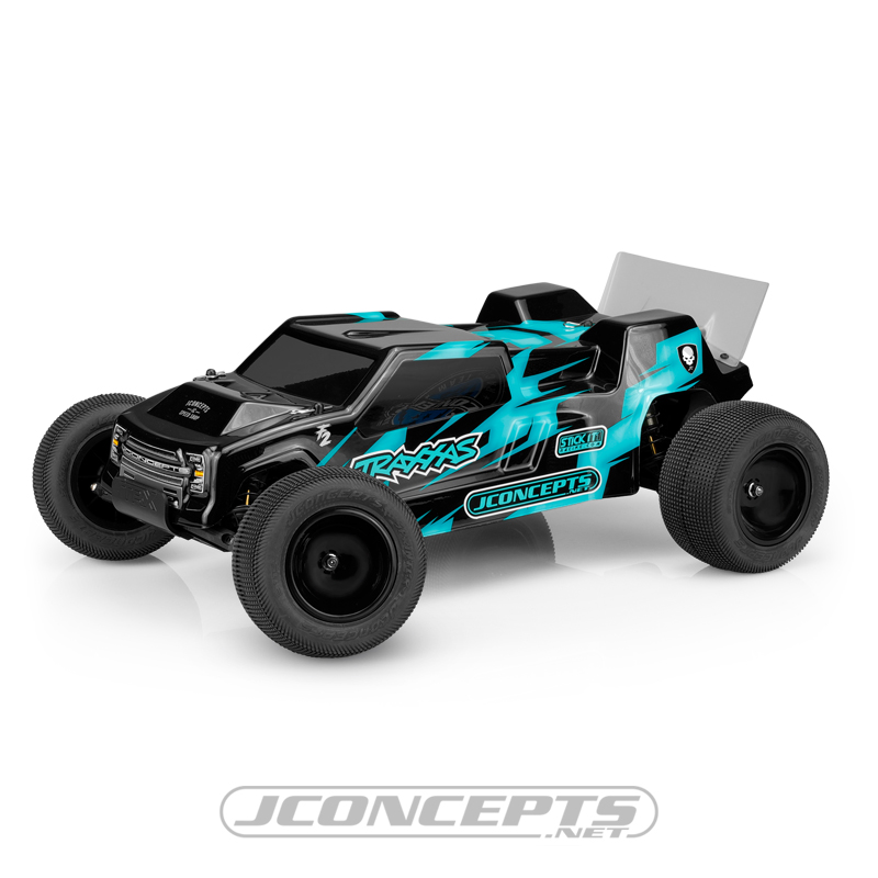 JConcepts Super Dish Front & Rear 2.2 Wheels For The Traxxas Rustler & Stampede