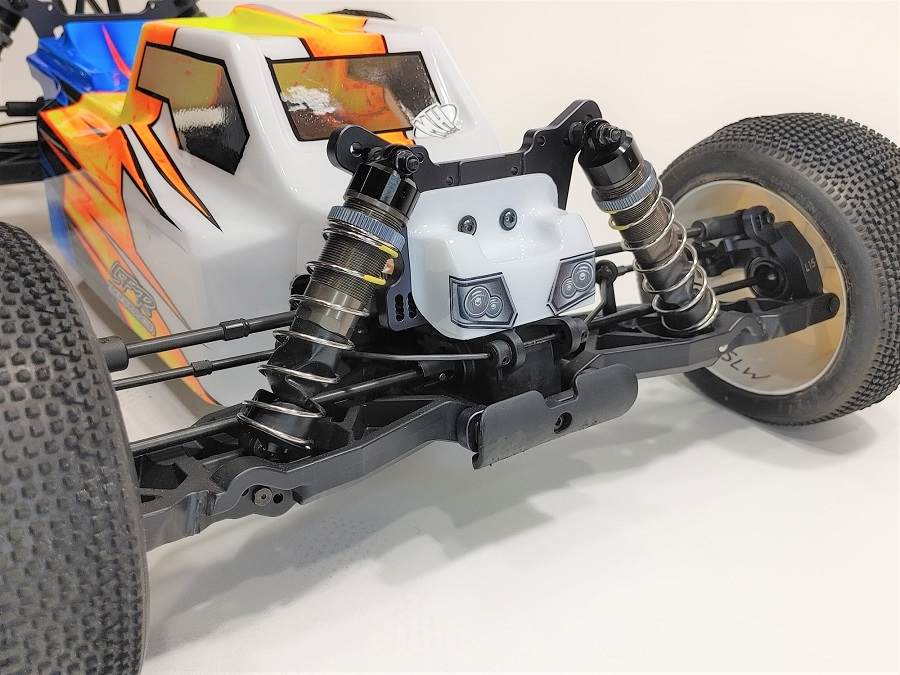 Leadfinger Racing Bruggy Clear Body For The Tekno ET 2.0