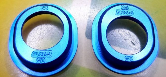 MOD 1.5 & .5/2.5 Aluminum Diff Height Inserts For Associated 6.1-6.3 Series Vehicles