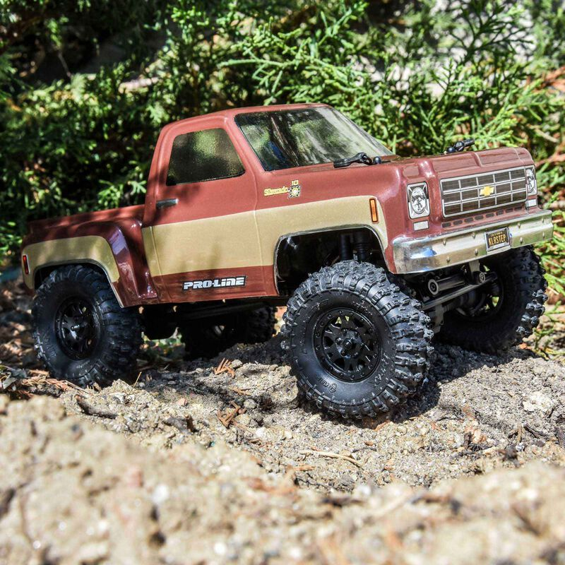 Pro-Line 124 1978 Chevy K-10 Clear Body For The SCX24