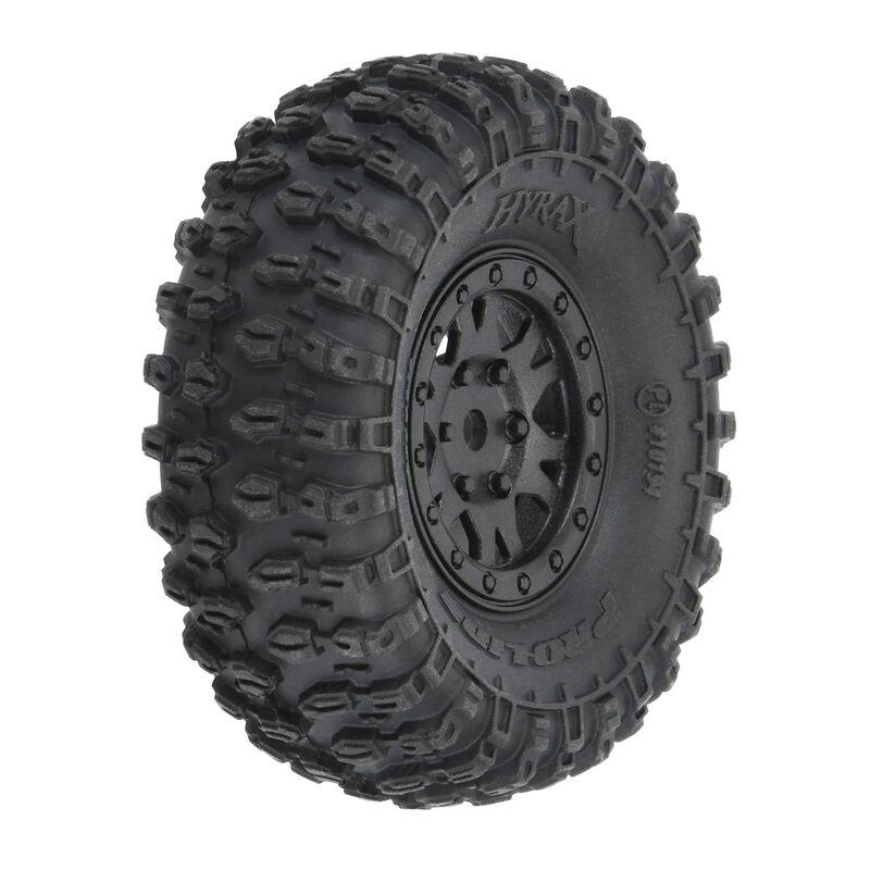 Pro-Line 1/24 Hyrax Tires & Impulse Wheels Pre-Mounts For The SCX24