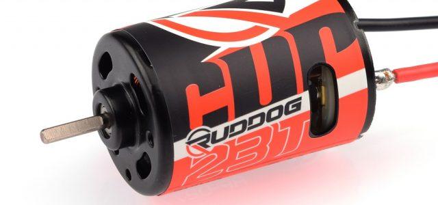 RUDDOG Cup 23T 3-Slot Brushed Motor