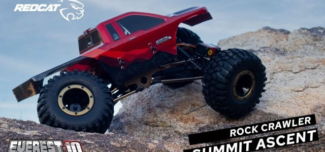 Short Action Sequence With The Redcat Everest-10 Rock Crawler [VIDEO]