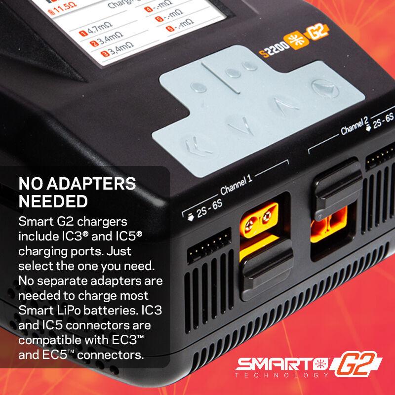 Spektrum Smart G2 Powerstage Bundle For 6S Surface Vehicles